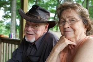 My Grandma Margie with my Grandpa Ray this past summer.
